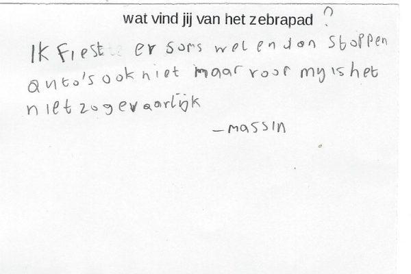 reactie deel 2 van Massin